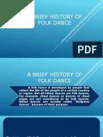 A Brief History of Folk Dance