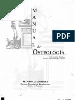 Manual de Osteologia aplicada