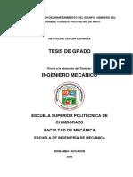 SISTEMATIZACION DEL MANTENIMIENTO DE MAQUINARIA PESADA