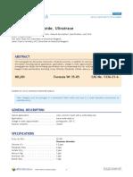 Ammonium Hydroxide, Ultratrace