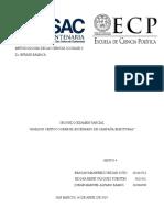 Análisis Crítco Sobre El Proceso Electoral  2019 Grupo 4