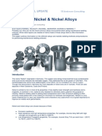 Technical Update Welding of Nickel Nikel Alloys (1)