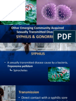 Syphilis and Gonorrhea