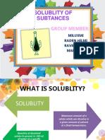 solublity
