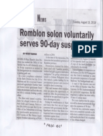 Malaya, Aug. 13, 2019, Romblon solon voluntarily serves 90-day suspension.pdf