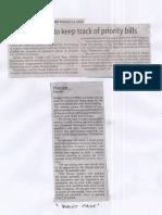 Manila Standard, Aug. 13, 2019, House, Senate to keep track of priority bills.pdf