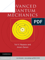 Yuli V. Nazarov, Jeroen Danon Advanced Quantum Mechanics A Practical Guide.pdf