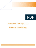 Inpatient Rehab LTLD Referral Guidelines