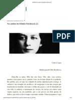 Malomil_ as Cartas de Milada Horáková (2)