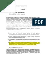 Preguntas Tipo ICFES y UNAL- Adriana Baquero Pérez