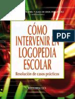 Cómo intervenir en logopedia escolar - Fernando Peñafiel Martínez.pdf