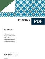 K.D. 3.2 Statistika