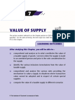 Value of Supply