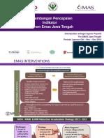 Perkembangan Capaian Program EMAS Jawa Tengah_Q1Y4_PROVINSI - Without ICT