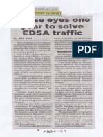 Philippine Star, Aug. 13, 2019, House eyes one year to solve EDSA traffic.pdf