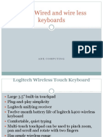 Latest Wired and Wire Less Keyboards