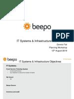 IT & Infrastructure Plan