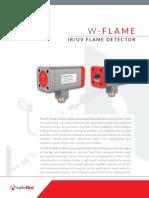 W FLAME Detector GP Spec Sheet V3