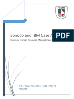 Sonoco and IBM Case Analysis
