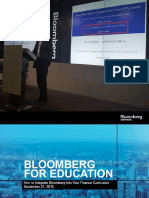 Bloomberg Education Symposium Presentation Part II
