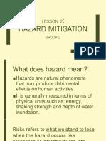 Hazard and Mitigation