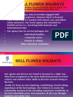 Bell Flower Holidays Ppt