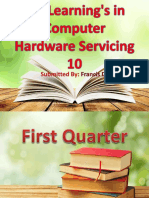 My Learnings in Computer Hardware Servicing 10