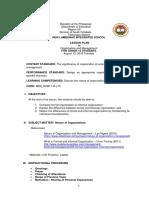LP - Nature of Organization Aug 13