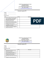 Checklist Inspeksi PPI 5 6
