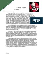 analysis on kfc in china