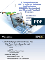 ANSYS IGBT Inverter Multiphysics Solution