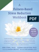 Mindfulness Based Stress Reduction Workbook