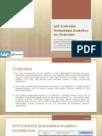 s4hana Embd Analytics