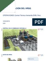 Operación HRSG