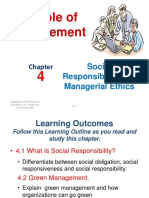 Chap4Social Responsibility and Managerial Ethics