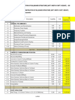 Bill of Quantities for Brgy.pitogo Billboard - 30ft W x 50ft H (1)