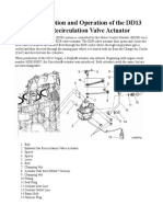 15.1  Description and Operation of the DD13 Exhaust Gas Recirculation Valve Actuator