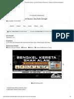 Bengkel Kereta Shah Alam (Spanar Jaya Auto Garage) _ Otoworkz.my - Malaysia Automotive Marketplace