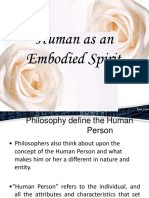 Human as an Embodied Spirit