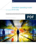 A Next Generation Operating Model for Source to Pay