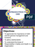 Leson 1 Introduction to OHSP