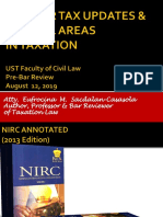 2019 Bar Tax Updates