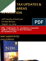 2019 Bar Tax Updates