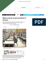 México Social_ Un País Sin Libros Ni Lectores