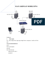 Perancangan Jaringan Mobile IPV6