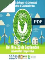 Invitación Congreso Ibagué Sostenible 2019