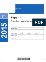 2015MatKS2Paper1L6 PrimaryTools.co.Uk