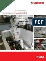 Chain Wheel Manipulator Datasheet