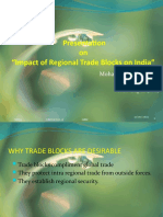 "Impact of Regional Trade Blocks on India"""