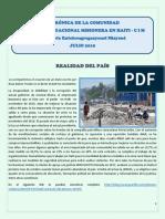 95 Crónica Julio Cim Haiti 2019 2